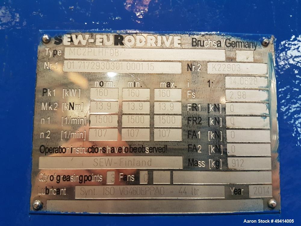 Used-Zeno Single Roll Shredder