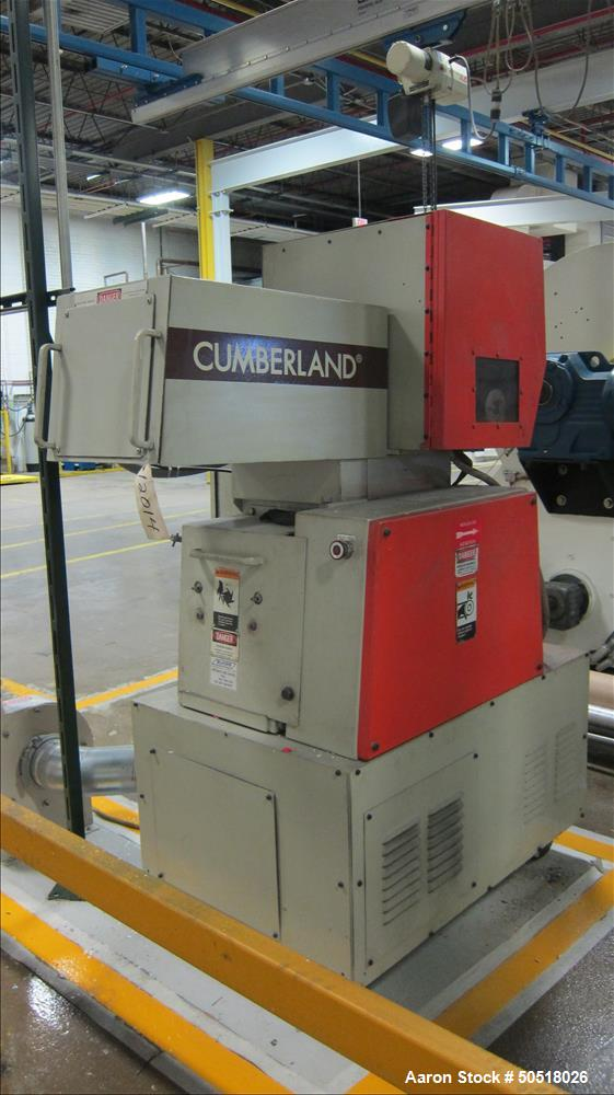 Used- Cumberland Granulator, Model 184.