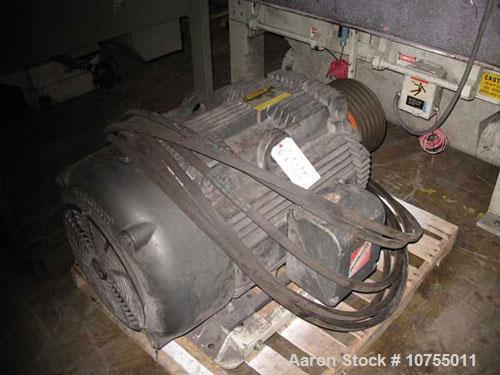"Used-Cumberland model 2062B granulator. 20"" x 62"" feed throat, 5 knife steep angle rotor, 2 bed knife, 150 hp, 460 volt moto..."