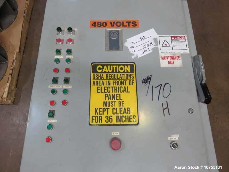 Used- Cumberland Model 3715h Hog Granulator.