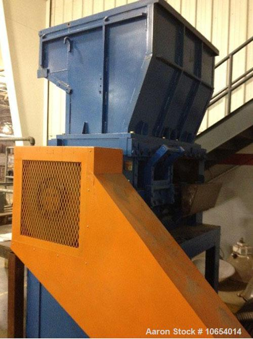 Used-Cumberland Granulator, Model 50.  5 Blade open rotor granulator, new 150 hp motor and comes with a blower and starter (...
