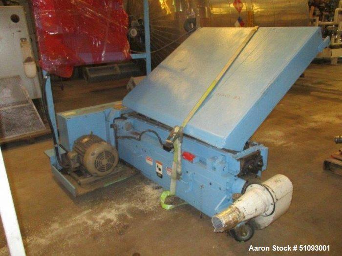 Used- Cumberland Model 56T sheet fed granulator