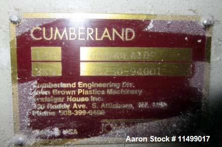 "Used- 24"" x 56"" Model X1400 Cumberland Granulator"