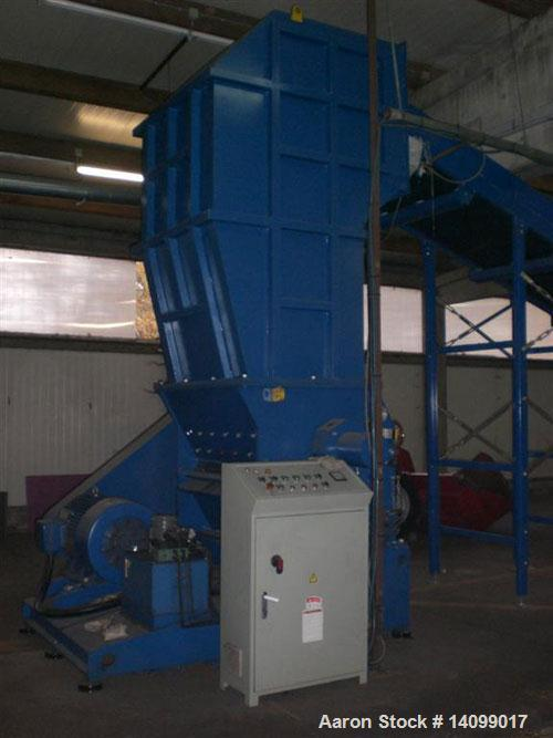 Used-DHB PC 66120 All-Purpose Heavy Duty Granulator with double cross cutting action.  120 Hp (90 kW) motor.  Feed opening 4...