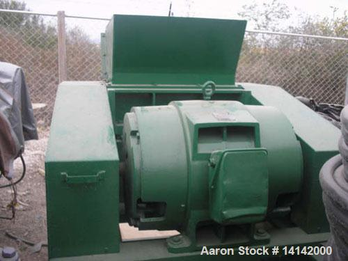 Used-Foremost grinder, 100 hp, model SS30. New blades and control panel, double rotor GE 100 hp motor. Previously used on fi...