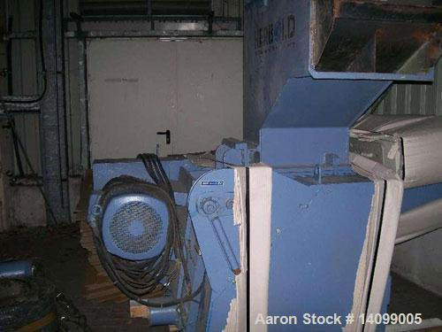 Used-Neue Herbold LP 450/300 F9  Granulator suitable for profiles.  49.3 hp/37 kW, 50 hz, (9) rotor knives, (2) stator knive...