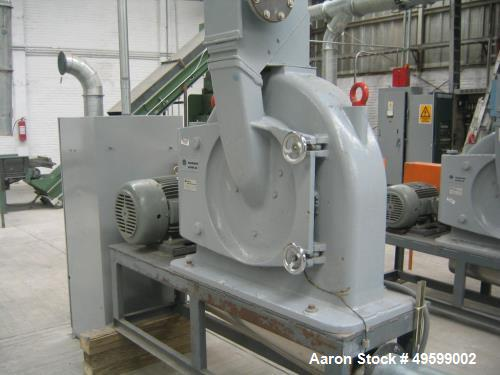 Used- Hosokawa Alpine Mill, Model UPZ500. Series LFH257725006 / 37566.1. 30 HP Motor, 460 Volt.