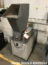Used- Ball & Jewell Granulator. Closed rotor, 5hp motor, drawer discharge. Serial# 4891009-MX. Machine# G37.