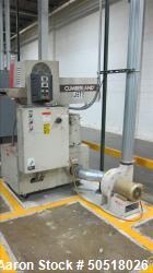 Used-CUMBERLAND GRANULATOR MODEL 184, 3 KNIFE, SERIAL 325525-89705, INCLUDES BLOWER AND 3HP BALDOR MOTOR