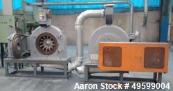 Used- Hosokawa Alpine Mill, Model UPZ500. Series LFH257725007 / 37566.3. 30 HP Motor, 460 Volt.