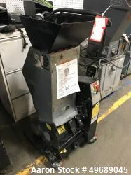 Used- Rapid Granulator, Model 611-SRE. Closed rotor, 3.5hp motor, set up for blower discharge. Serial# 240-5415W, built 2000...