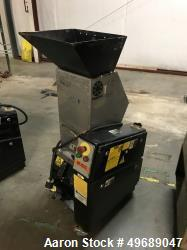 Used- Rapid Granulator, Model 611-SRE. Closed rotor, 3.5hp motor, set up for blower discharge. Serial# 240-5416W, built 2000...