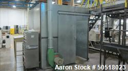 Used-RAPID GRANULATOR, MODEL R-36, SN 430-66475, APPROXIMATELY 40HP MOTOR. PULL ROLLS, YEAR 2005, WITH SOUND ENCLOSURE, AND ...