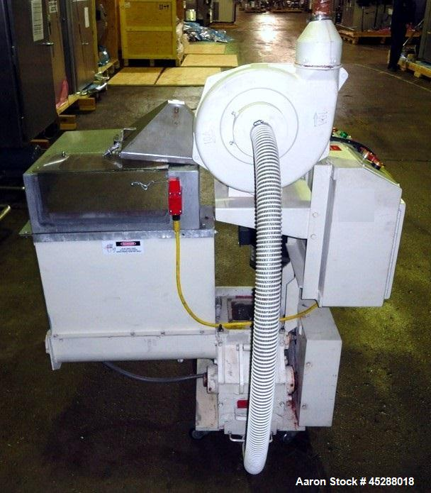 Used- AEC Nelmor AK Series Auger Fed Granulator, Model AK68