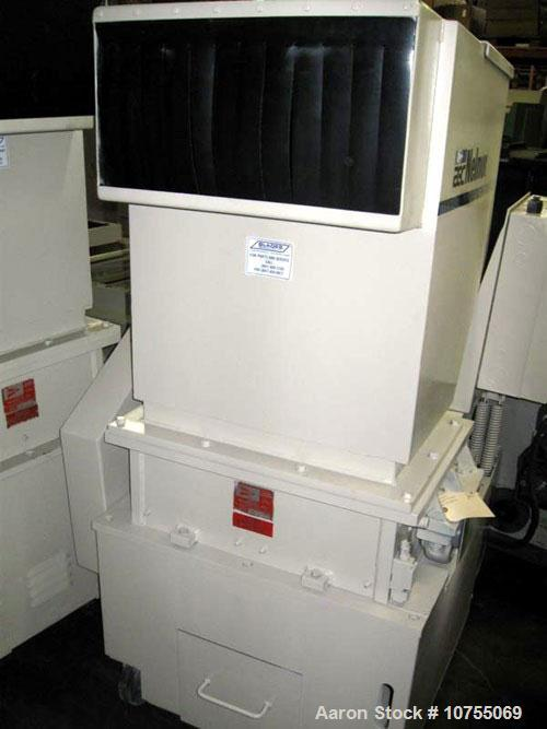 "Used-Nelmore Model G1224 P1 Granulator. Unit is equipped with a 3 knife solid rotor and two bed knives. 12"" x 24"" cutting ch..."