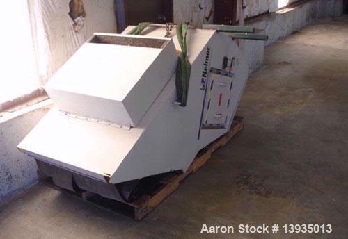 "Used-Nelmore Model G2030TF. 20"" x 30"" throat size opening, 3 blade rotor, 2 bed knives, soft start, 50 hp, ""excellent for PE..."