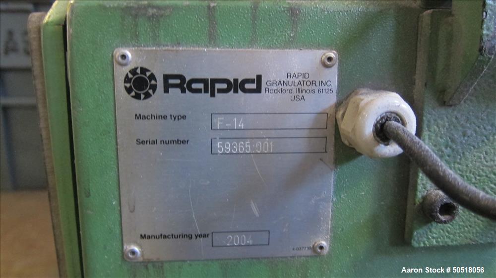 Used - Rapid Granulator