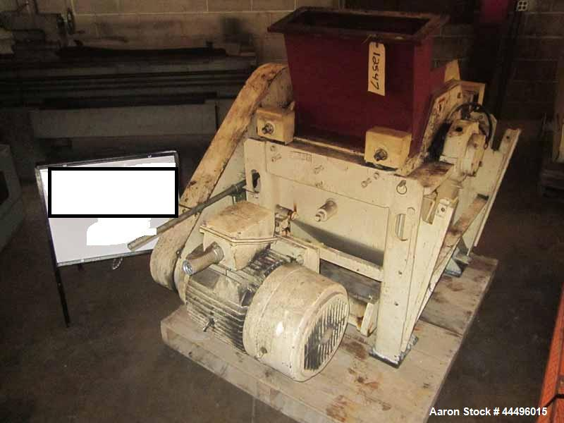 """Used- Sprout Waldron Granulator, 15"""" x 18"""" feed"""