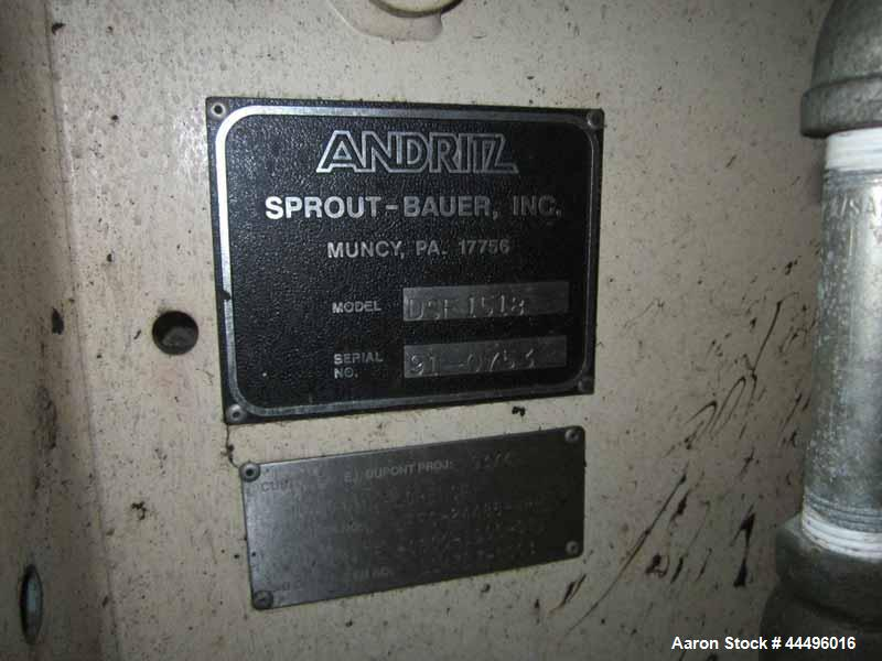 Used- Sprout Waldron Granulator