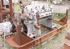 USED: Cumberland grinder, carbon steel. 5 hp, 3/60/220/440 volt, 1150 rpm motor, cutting rotor 26