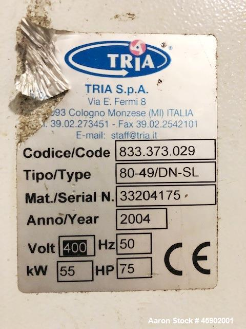 Used- Tria Granulator, Type DN 80-49.