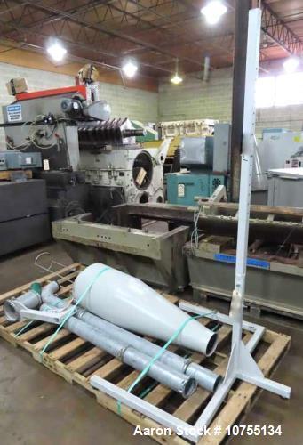 Used- Tria Feed Roll In Feed Granulator. Model TRK5030