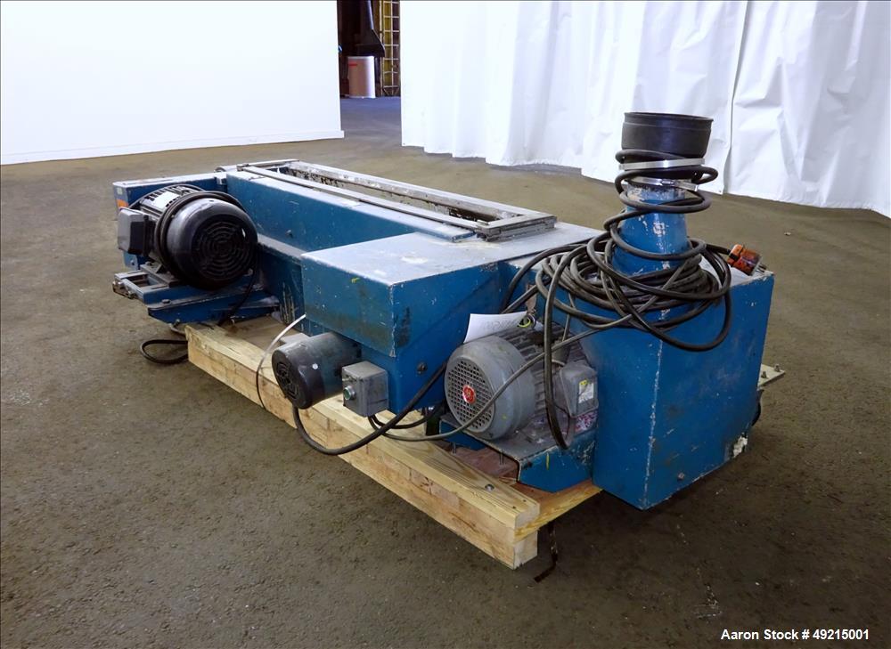 Used- Wortex Granulator, Model UP-755, Carbon Steel.