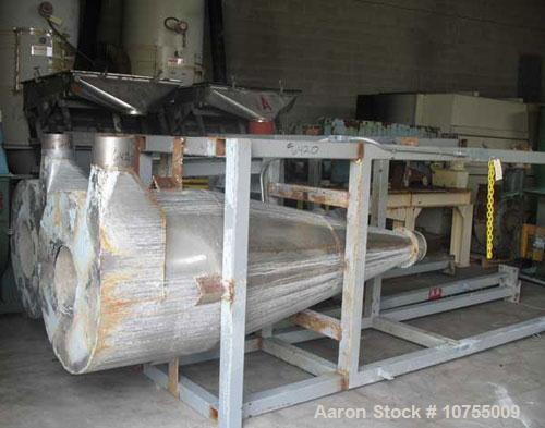 Used-Condux CV50 compacting/granulation line. Primary granulator model CS500/1000-87, No 7106, SO #200126, 2001 model year, ...