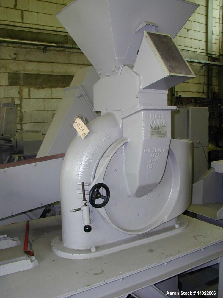 Used-Fuchs Pulverizer, Model MTS 40
