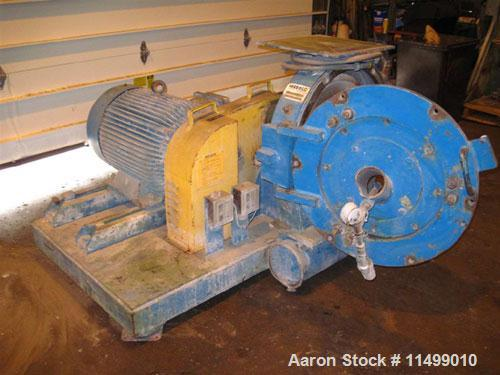 """Used-Herbold Pulverizer, Model PU500.20"""" Rotor, wing beater style rotor, belt driven, 55 kW motor, 330-2250 lbs/hr.Manufactu..."""