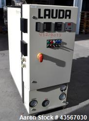Used- Lauda 24kW Secondary Circle Unit Heater, Type TR400HKK. Temperature range -60 to 200 degrees C. (-76 to 392 F.). 3/50/...