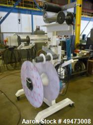 Used- MACRO Engineering 12'' Wide Cantilever Style Edge Trim / Profile Winder for Maximum 32'' Diameter Roll. Unit is Equipp...
