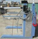Used:Chase Machine and Engineering rewind unit. Single station. Approximately 30