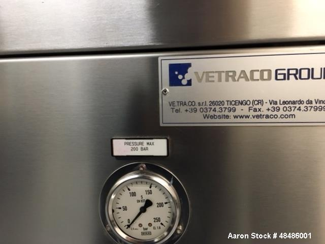 Used- Vetraco Group Powder Press, Model CP 024 W