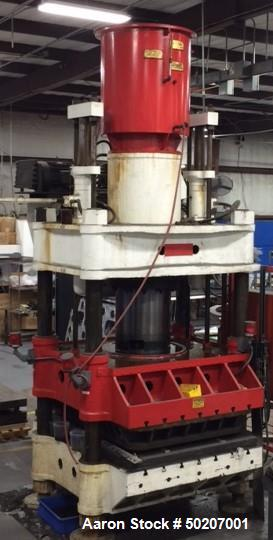 Used- Southwark Hyspeed Hydraulic Pad Press, 500 Ton