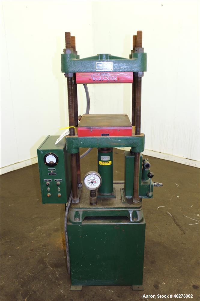 Used Carver Laboratory Manual Press Model 2699