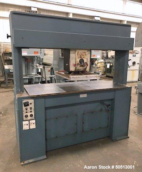 Used- Hudson Machinery 25 Ton Travel Head Die Cutting Press