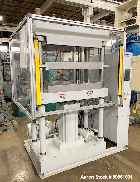 Used- Grimco 100 Ton Molding & Laminating Hydraulic Press.