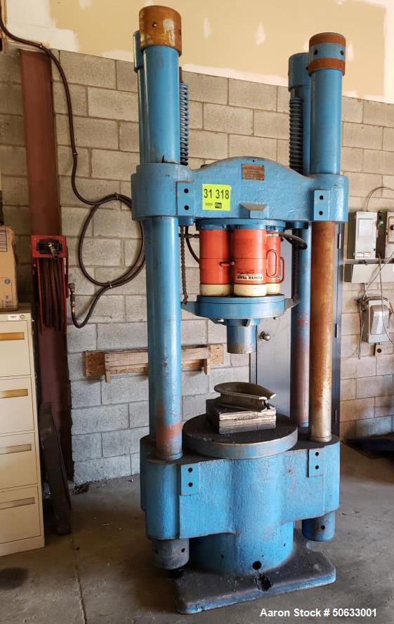 Used- J.M. Lehmann 400 Ton Hydraulic Press