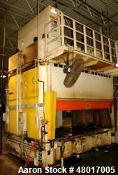 "Used- 100 Ton Hamilton Gib-Guided Compression Modling Press, Model 100AP082. Max. stroke 30"", max. daylight to bed 48"" (18"" ..."
