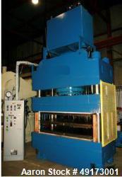 Unused- Accudyne 4 Post Hydraulic Press.