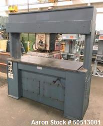 Used- Hudson Machinery 25 Ton Travel Head Die Cutting Press, Model F/63 M HS