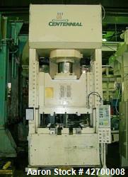 Used- 400 Ton Greenerd H Press, Model IICTG-400