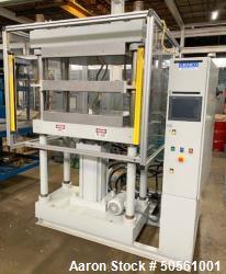 Used- Grimco 100 Ton Molding & Laminating Hydraulic Press.