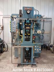 Used- Hydramet Co. Automatic/Manual Uniaxial Mechanical Hydraulic Press, 12 Ton