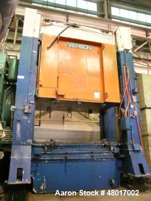 Used- 300 Ton Verson High Speed Hydraulic Press,