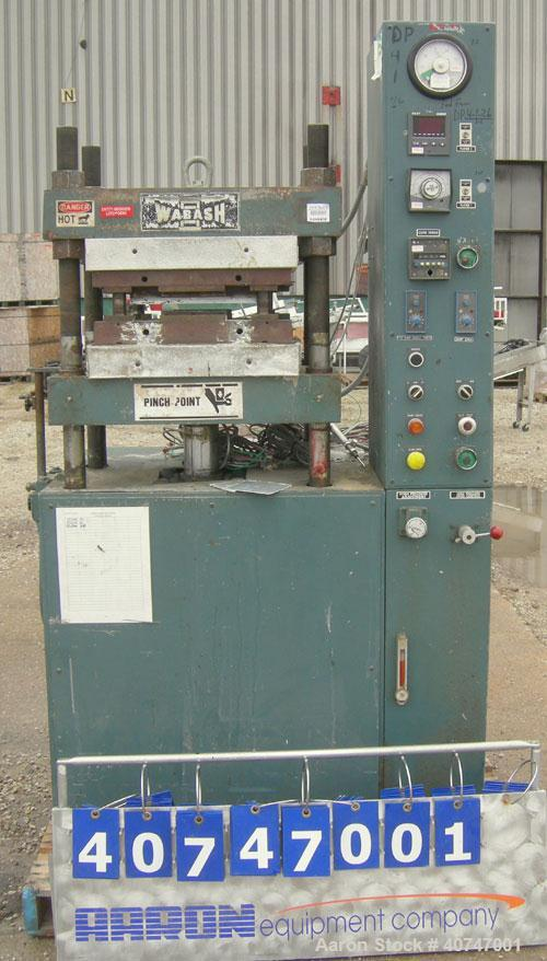 Used- Wabash 75 Ton Hydraulic Press, model 75-18-