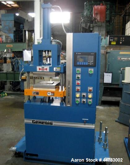 Used Wabash 30 Ton Hydraulic Transfer Molding Pr