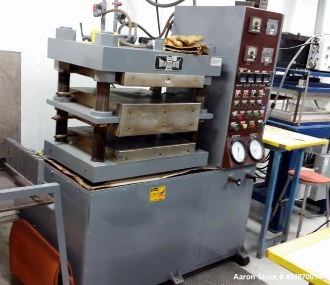 Used- Wabash Press, Model # PC-100-2424-4TM