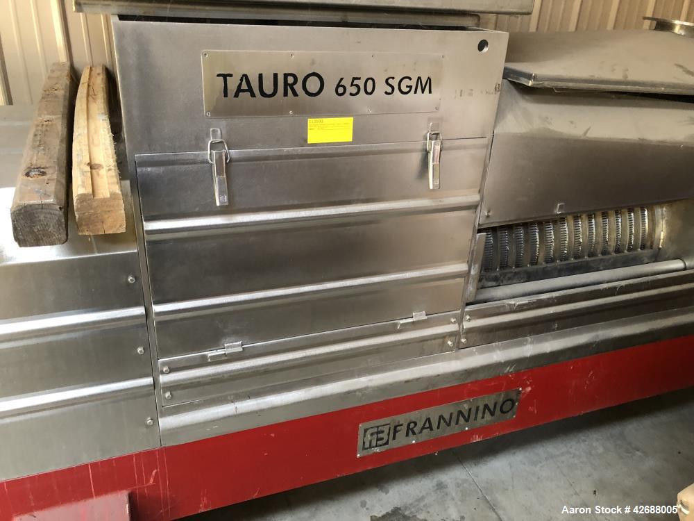 Used- Tauro Franino Press 650 SGM